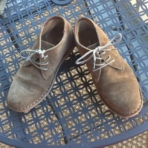 Kenneth Cole Tan Suede Shoes